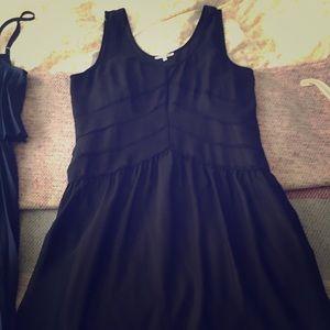 ModCloth sheer black dress